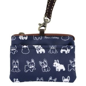 Waterproof French Bulldog Coin Purse & Card Pouch